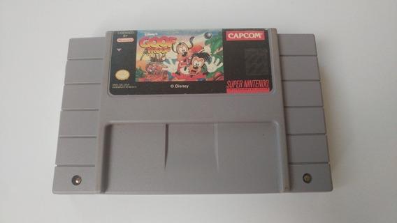 Goof Troop Americano Original Para Super Nintendo!!