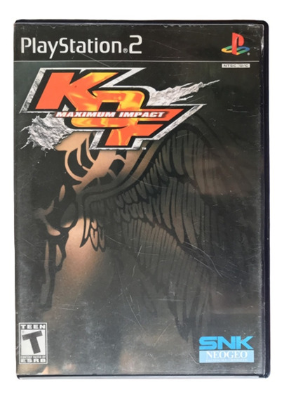 The King Of Fighters Maximum Impact - Ps2 Original Usa