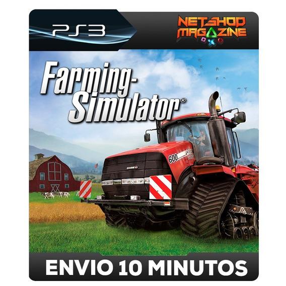 Farming Simulator 2013 - Psn Ps3 - Envio Imediato
