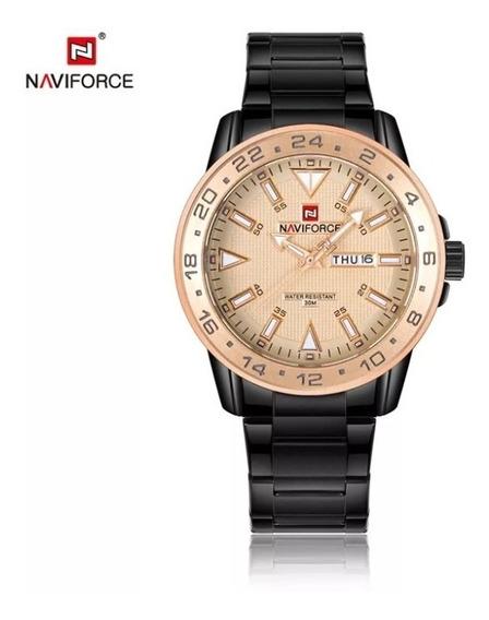 Relógio Naviforce Original Estilo Social Frete Grátis Top