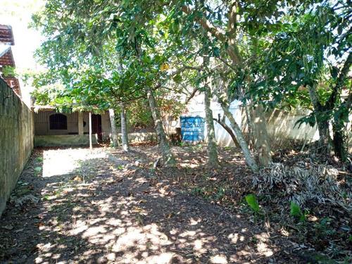 Terreno Com Edícula Com 02 Dormitórios, Varanda, Amplo Quintal. - V617