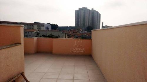Cobertura  Residencial À Venda, Parque Erasmo Assunção, Santo André. - Co0928