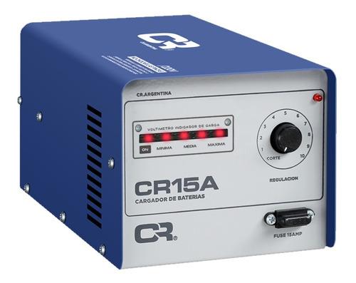 Cargador Bateria Cr 15amp C/regulacion Auto Moto Lancha
