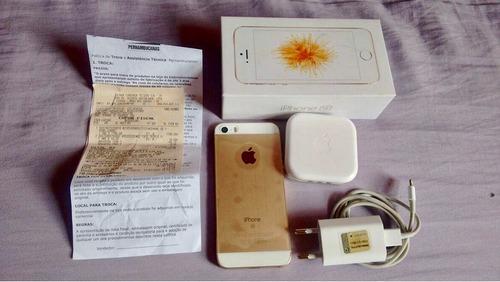 Imagem 1 de 6 de iPhone SE, 16gb, Dourado