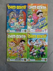 Chico Bento - 4 Gibis - De Maurício De Sousa - Novos!