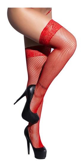 Panty Medias Red Bucaneras Fantasía Lencería Online