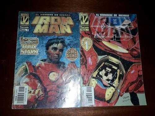 Comics De Iron Man Numero 1 & 7 De Coleccion.-