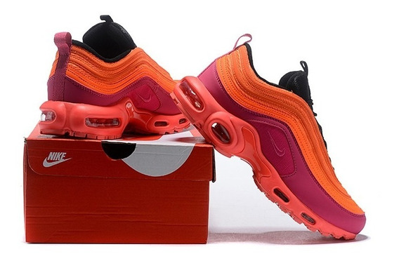 Nike Air Max Plus 97 Racer Pink/hyper Magenta-total Crimson