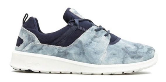 Zapatillas Dc Heathrow Washed Celeste-azul