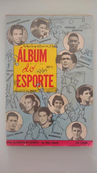 Revista Álbum Do Esporte N.01 - Anos 60