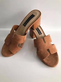 Zapatos Importados Marca Cuero Natural