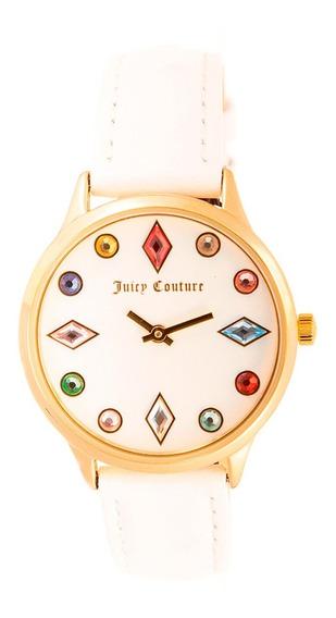 Reloj Juicy Couture Piel Correa Blanco