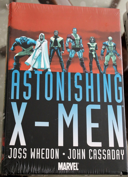 Astonishing X-men Omnibus Inglês Volume Capa Dura + De 600pg