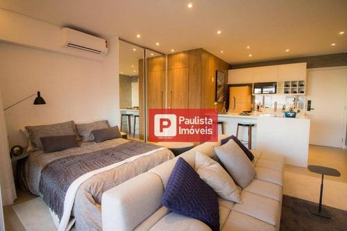 Apartamento Com 1 Dormitório À Venda, 42 M² - Campo Belo - São Paulo/sp - Ap27980
