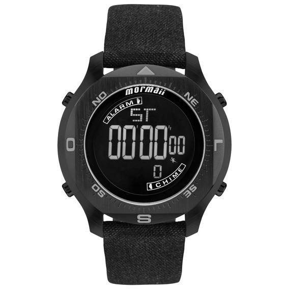 Relógio Masculino Mormaii Acqua Mo11273d/2p Couro Ecológico