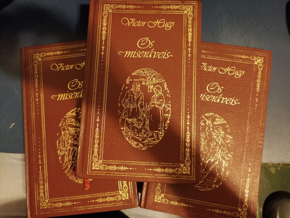 Os Miseráveis (3 Volumes)