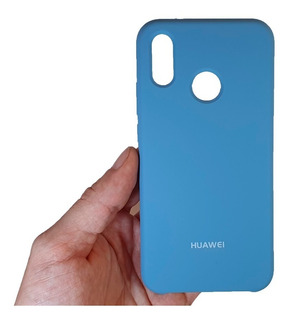 Forro Funda Silicone Case Original Huawei P20 Lite