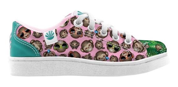 Zapatillas Kioshi Dido Emoji Teen Pink Monkeys