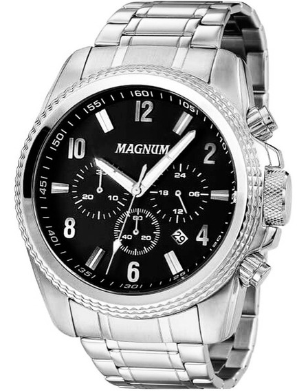Relógio Magnum Masculino Cronógrafo Ma34076t
