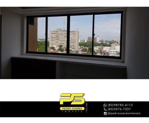 Sala À Venda, 38 M² Por R$ 160.000 - Centro - João Pessoa/pb - Sa0259