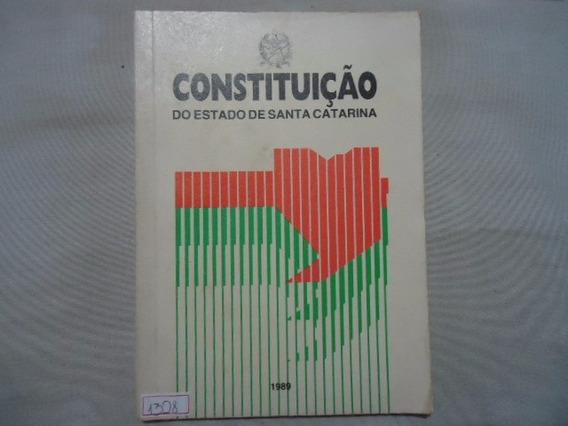 Livro Constituição Do Estado De Santa Catarina N.1328 @@