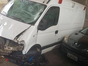 Renault Master 2.5 Dci Longa, Ambulância Uti Batida