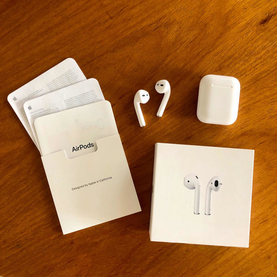 Fone Apple AirPods 2 Modelo 2019 / Mv7n2am/a