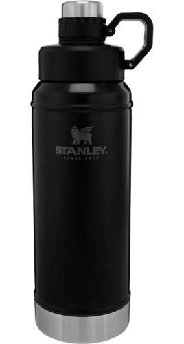 Botella Para Liquido 1 Litro Negra 2020 Stanley