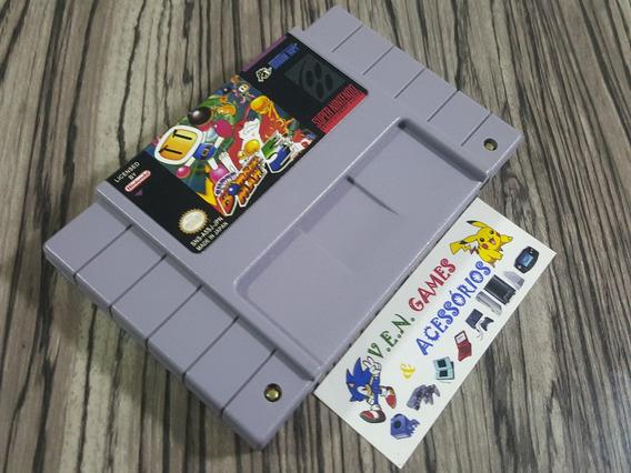 Super Bomberman 5 Original Repro Snes + Frete Grátis!!!!!