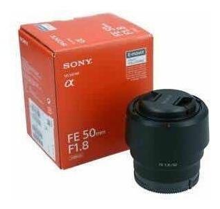 Lente Sony Fe 50 Mm F1.8 E-mount