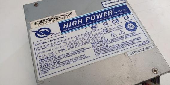 Fonte High Power Sfx270a1 Mini Atx