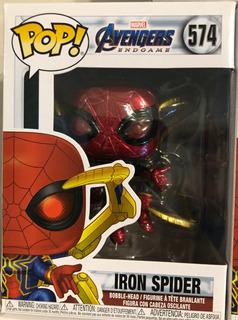 Avengers Endgame Iron Spider Nano Gauntlet Pop! Funko 574