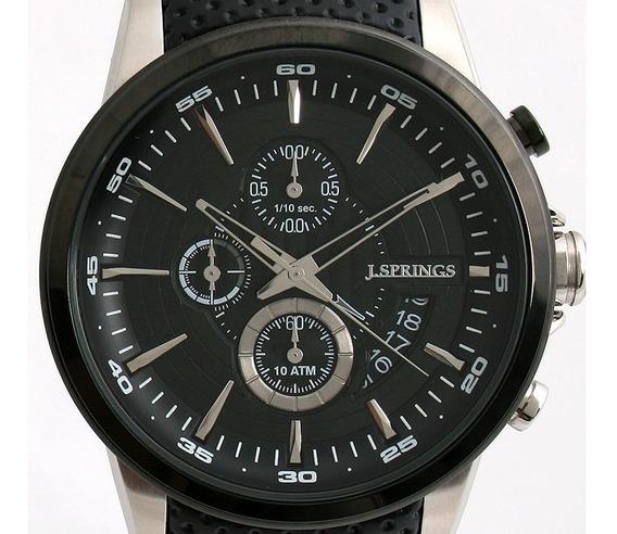 J Springs Bfd077 Analogo Crono Fechador Wr100m Relojfilia