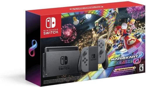 ..:: Consola Nintendo Switch Con Mario Kart 8 Deluxe ::.. Gc
