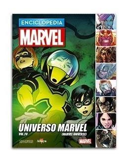 Comic Enciclopedia Marvel # 95 Universo Marvel Vol. 20