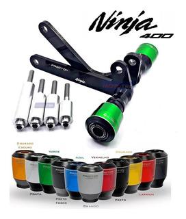 Slider Dianteiro Protetor Motor Procton Kawasaki Ninja 400