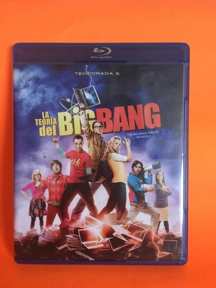 The Big Bang Theory Temporada 5 Blue Ray