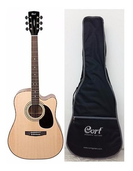 Violao Cort Ad880ce Folk C/ Capa Cort Ad880 Ce