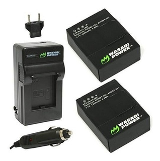 Wasabi Power Battery (paquete De 2) Y Cargador Para Gopro He