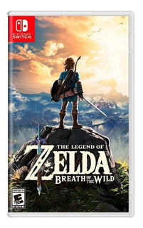 The Legend Of Zelda Breath Of The Wild Switch Mídia Física