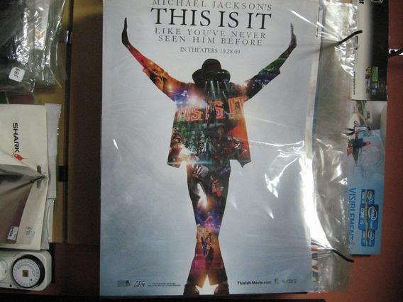 Poster Michael Jackson A3 - Cartulina Dura