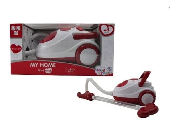 Brinquedo Aspirador De Pó A Pilha Com Luz Som My Home