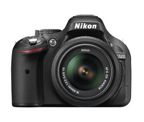 Câmera Nikon D5200 Dslr - Lente 18-55 Nikon E 35mm Yongnuo!
