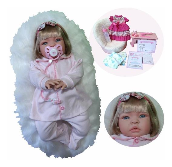 Boneca Bebe Reborn Barato Promoção 17 Itens