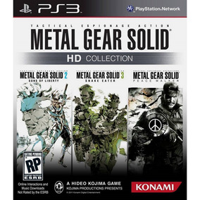Metal Gear Solid Hd Collection (midia Fisica) - Ps3