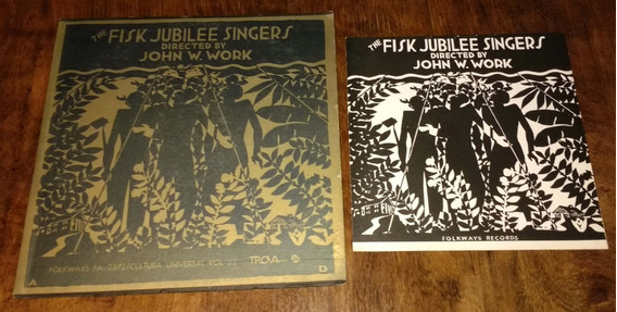 The Fisk Jubilee Singers John Work Disco Lp Vinilo