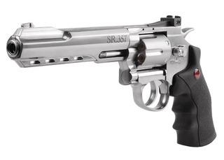 Revolver 357 Crosman Fullmetal Armas Pistolas + Regalos + Bbs + Co2 + Meses Sin Intereses