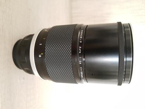 Teleobjetiva Nikon Nikkor - P 180mm F/2.8 Com Case Original