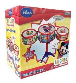 Juguete Mi Primer Bateria Infantil Mickey Original Ditoys
