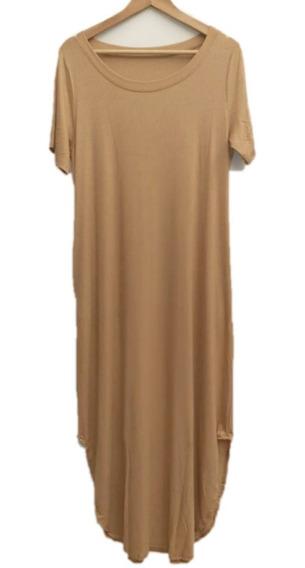 Vestidos Mujer Talles Grandes Morley Premium Cuello Redondo